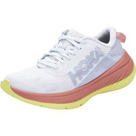 Hoka One One Carbon X Running Shoes Women, biały/niebieski